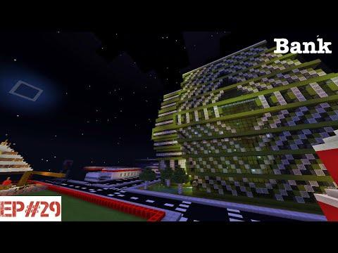 Minecraft   Building A City   #29   Bank