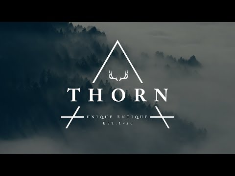 How To Design A Thorn Hipster Logo In Photoshop
