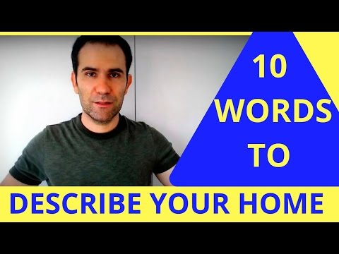 10 Words To Describe Homes: Great for IELTS!