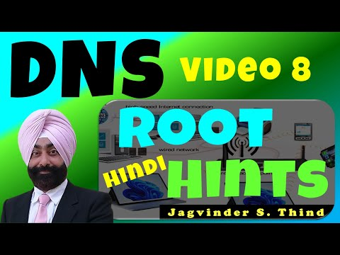DNS Root Hints - Domain Name System in Hindi