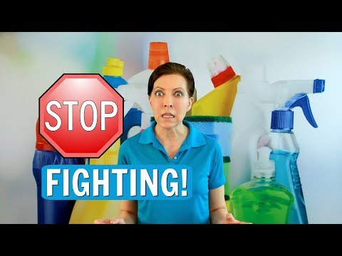 Domestic Dispute  - Stop Fighting with Coworkers While Cleaning