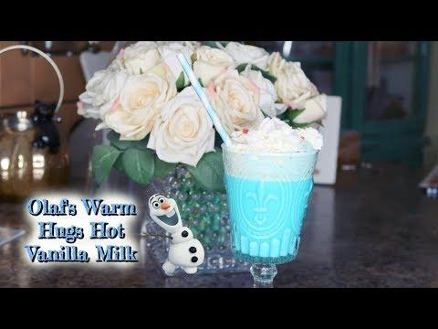 Olaf's Warm Hugs Hot Vanilla Milk  // Easy Disney Themed Recipe
