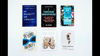 Inspiring science books of 2017 with Brian Cox