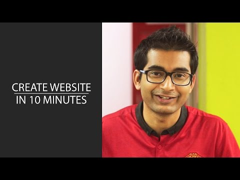 How to Create a Website Under 10 Minutes