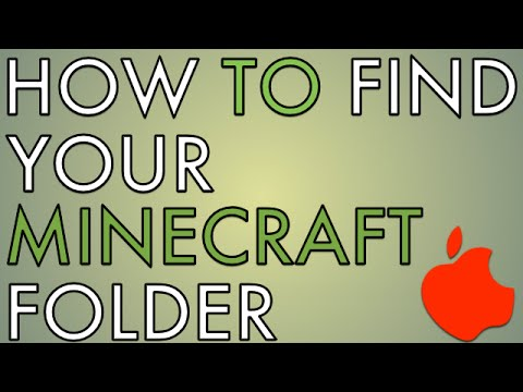 How To Find Your Minecraft Folder on Mac