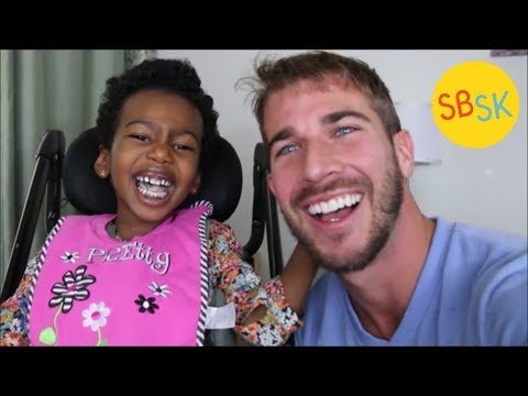 Unable to Walk or Talk But Always Laughing (Cerebral Palsy)