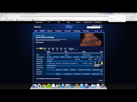 Airplay Demo to Apple TV (SkyGo)