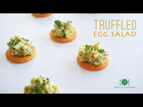 Truffled Egg Salad | 1-2 Simple Cooking
