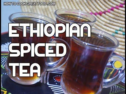አማርኛ How to Make Ethiopian Spiced Tea Recipe