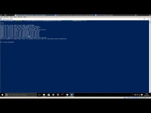 Check What Patch Updates are NOT Installed with PowerShell
