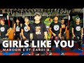 GIRLS LIKE YOU by Maroon 5 ft Cardi B | Zumba® | Bachata | Pre Cool Down | Kramer Pastrana