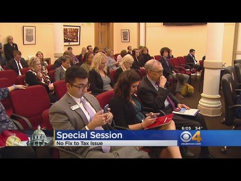 Colorado Special Session Ends With No Fix For Pot-Tax Error
