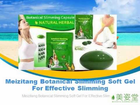botanical slimming natural soft gel