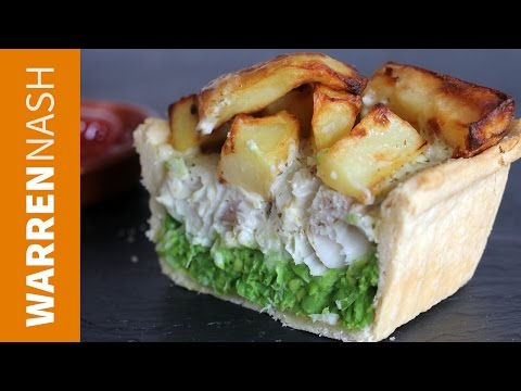 Fish and Chips Pie Recipe - Inspired by the M&S dish - Recipes by Warren Nash