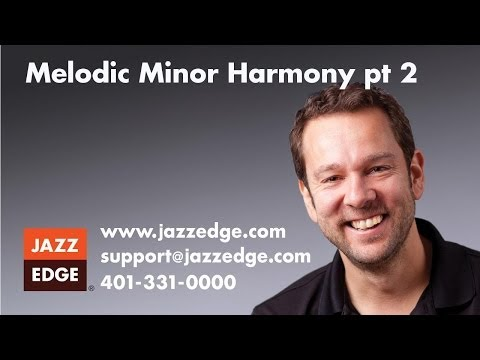 Learn to Play Piano at Home: Introduction- Melodic Minor Harmony pt 2
