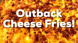 How to make Outback Steakhouse Cheese Fries with Outback Steakhouse Copycat Dressing - Everyday BBQ