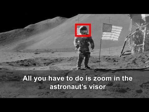 Moon Hoax Evidence: NASA trickery exposed