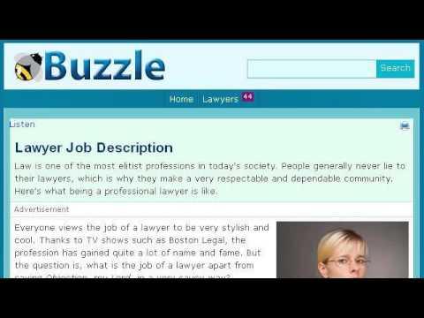 Civil Attorney Job Description