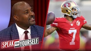 Marcellus Wiley: The NFL won their grievance case with Colin Kaepernick | NFL | SPEAK FOR YOURSELF