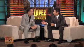 Download LOPEZ TONIGHT with Andy Garcia Video
