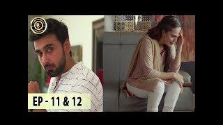 Khudgarz Episode 11 & 12 - 23rd Jan 2018 - Aamina Sheikh Syed Jibran & Sami Khan