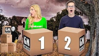 Opening GAME MASTER Mystery Packages in his Abandoned Warehouse!(New Spy Clues & Mysterious Riddles)