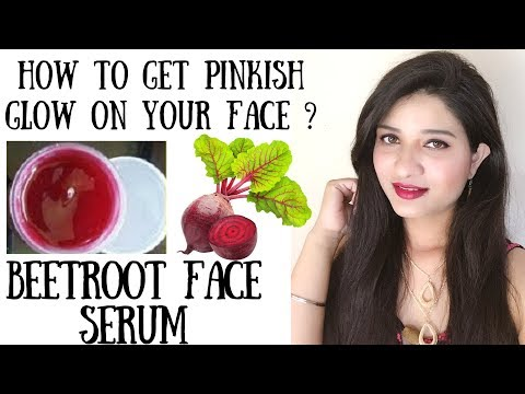 Beetroot Night serum in Hindi I Instant skin brightening & glow on your face I glowing skin I AVNI