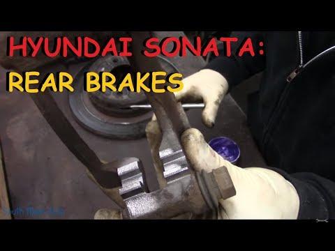 Hyundai Sonata Rear Brake Pads & Rotors