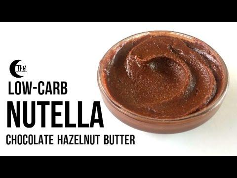 Keto Nutella | Low-Carb Chocolate Hazelnut Butter Spread | Sugar-Free Nutella Recipe