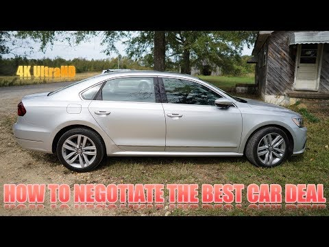 How to Negotiate the Best Car Price