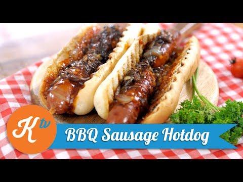 Resep BBQ Sausage Hotdog with Caramelized Onion | MARTIN NATADIPRAJA