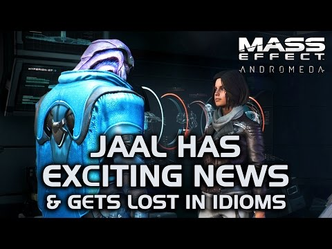 Mass Effect Andromeda - Jaal has Exciting News & Gets Lost in Idioms