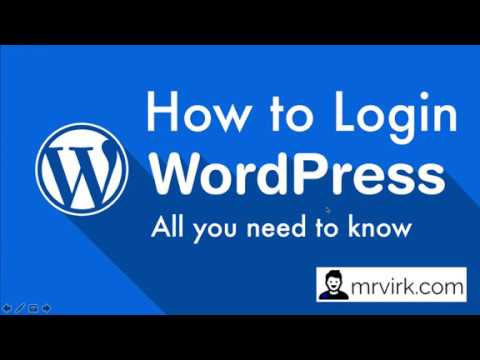 How to login into Wordpress Website Dashboard | Everything you need to Know