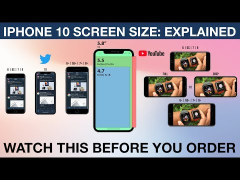 iPhone X | Screen Size: Explained!  | iPhone 10