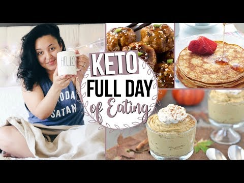 WHAT I EAT IN A DAY ON THE KETO DIET | QUICK AND EASY LOW CARB RECIPES | Page Danielle