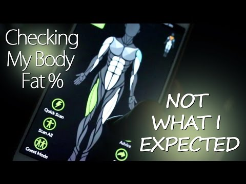 How To Check Your Body Fat Percentage | NOT WHAT I EXPECTED