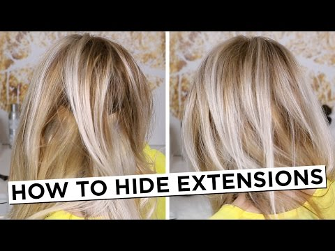 How To Hide Hair Extensions
