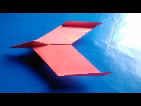 How to make a easy paper airplane | New design paper plane
