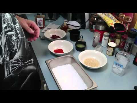 Chilli infused salt