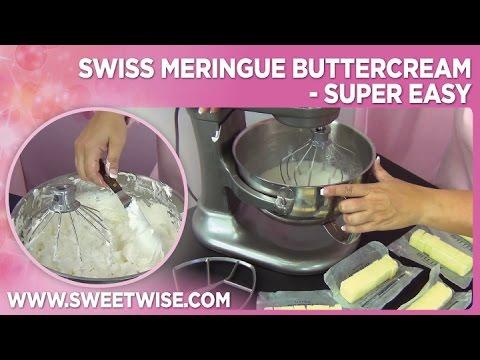 Swiss Meringue Buttercream - Super Easy