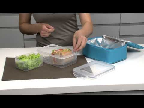 Thermal-insulating lunch bag with gel pack TESCOMA COOLBAG