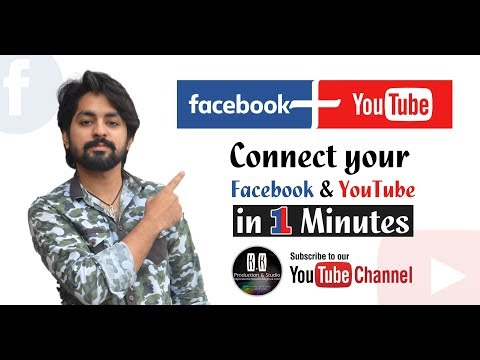 How To Link Youtube Channel To Facebook Page