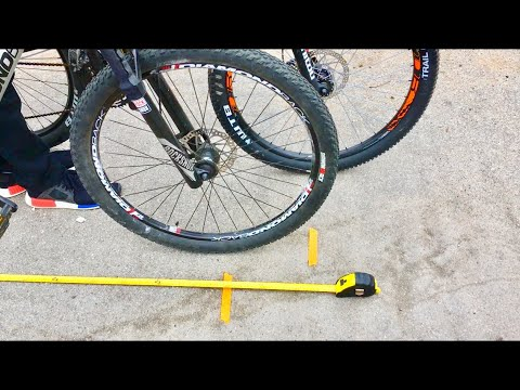 Mechanical vs Hydraulic Disc Brake Stopping Power Test