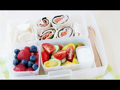 Healthy Lunch Idea: Easy Crunchy Turkey Pinwheels (or wraps)