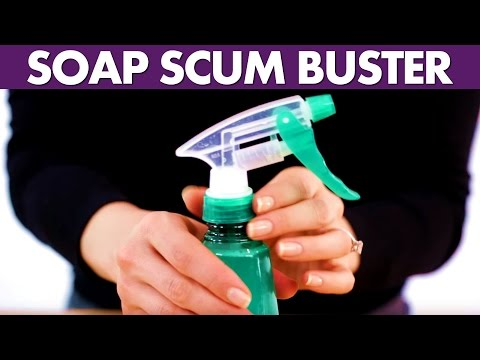 Soap Scum Remover - Day 15 - 31 Days of DIY Cleaners (Clean My Space)