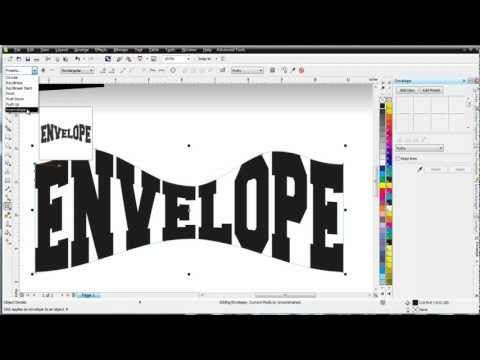 CorelDRAW X6 for Beginners the Envelope and Perspective Tools