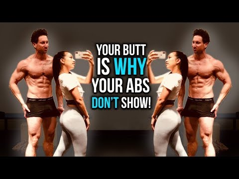 """""""I Can't Lose The Last Layer Of Lower Belly Fat"""" (YOUR BUTT IS WHY!)"""