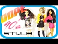DIY Doll Stuff |  How To Print a Doll Shirt Using Glue |  90's Style Dope Doll Clothes