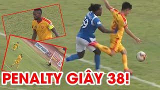 Penalty nhanh nhất lịch sử V.League và cái kết bất ngờ! | Than Quảng Ninh - Thanh Hóa | NEXT SPORTS