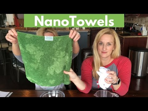 NanoTowels Review - Cleans with just water
